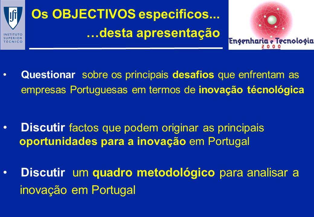1.O CONTEXTO 2. QUADRO CONCEPTUAL 3.CARACTERIZAÇÃO & TENDÊNCIAS 4.DESAFIOS & OPORTUNIDADES 5.ESTRATÉGIAS O CONTEÚDO proposto