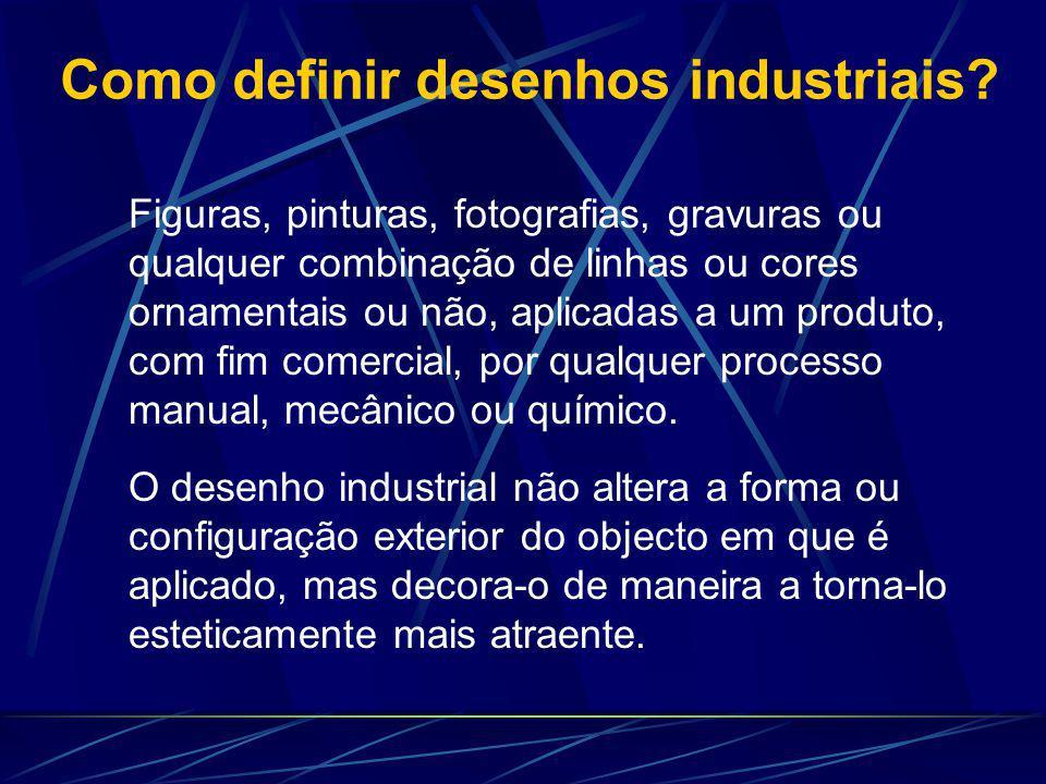 Como definir desenhos industriais.