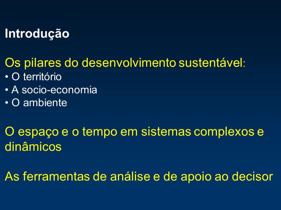Conceito Ferramenta de avaliação que permite estimar o consumo de recursos e os requisitos de assimilação de resíduos de uma determinada população humana ou de uma economia em termos da área correspondente de solo produtivo Condições de utilização do Capital Natural; medição dos desvios em relação às condições que possam considerar- se de equilíbrio ou de auto-sustentação O relatório Brundtland