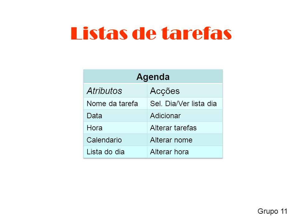 Grupo 11 Listas de tarefas
