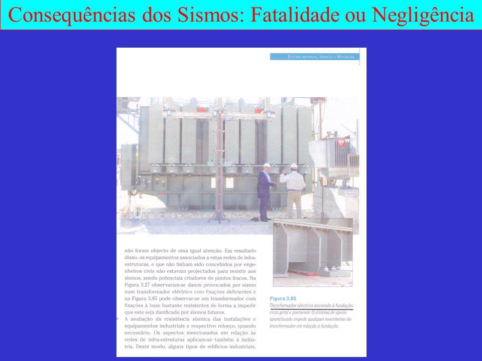Consequências dos Sismos: Fatalidade ou Negligência