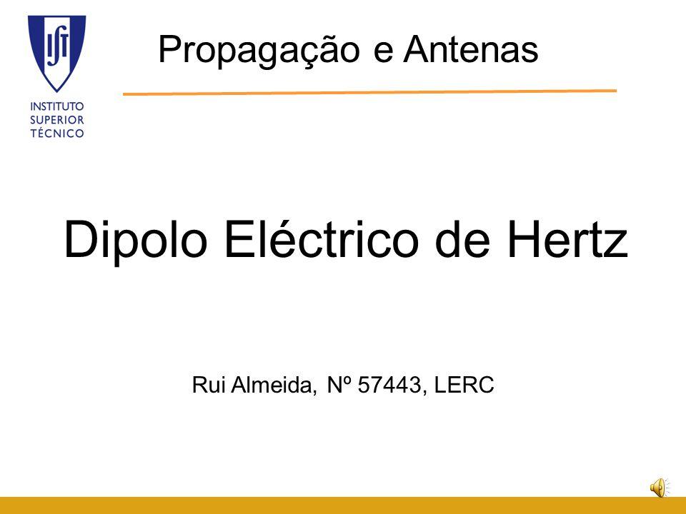 9.Resistência de radiação A resistência radiada é determinada pela geometria da antena.