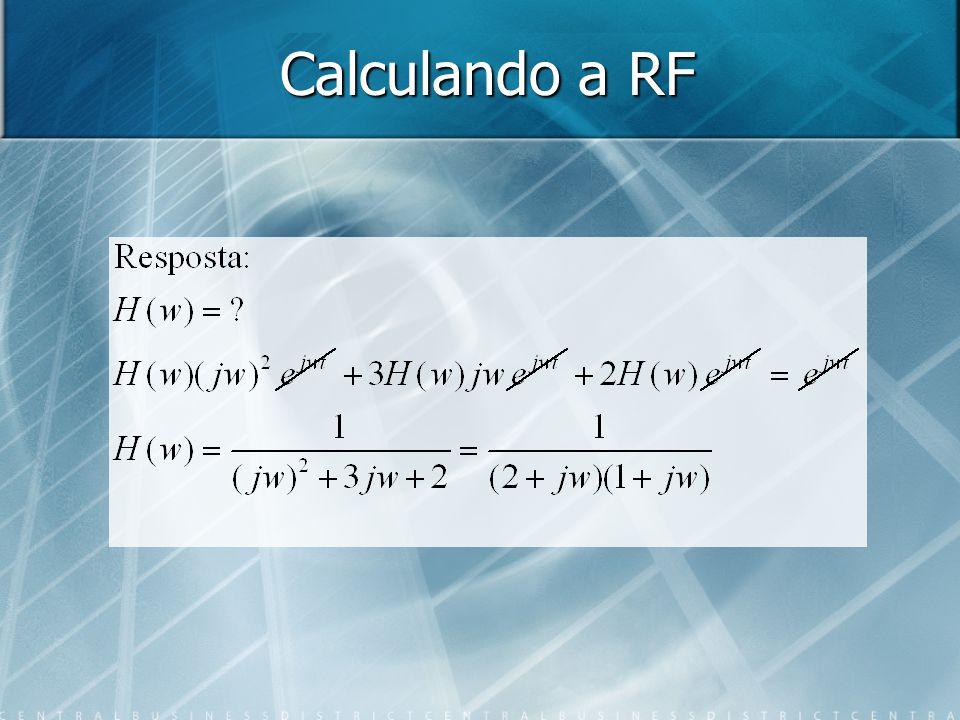 Calculando a RF