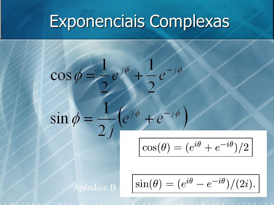 Exponenciais Complexas Apêndice B