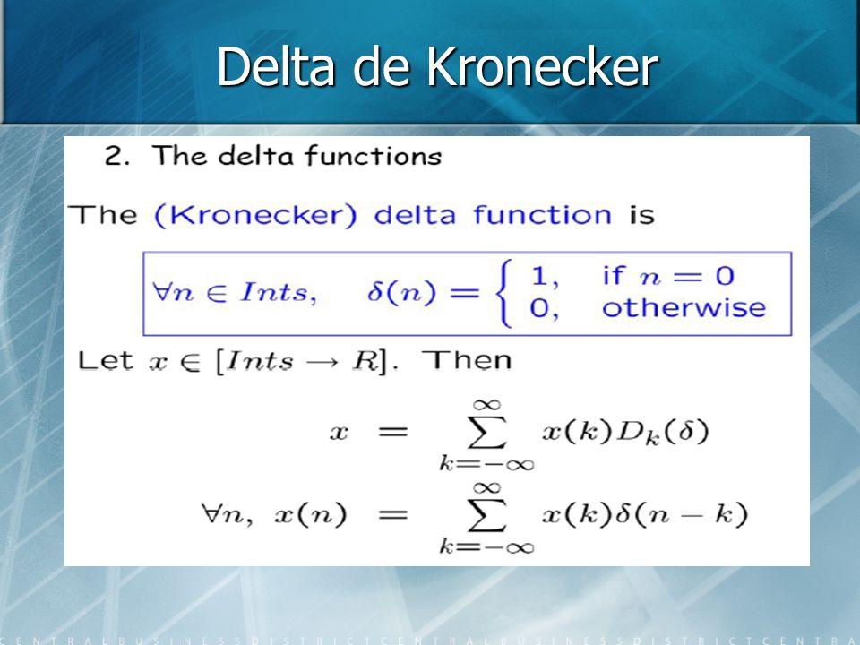 Delta de Kronecker