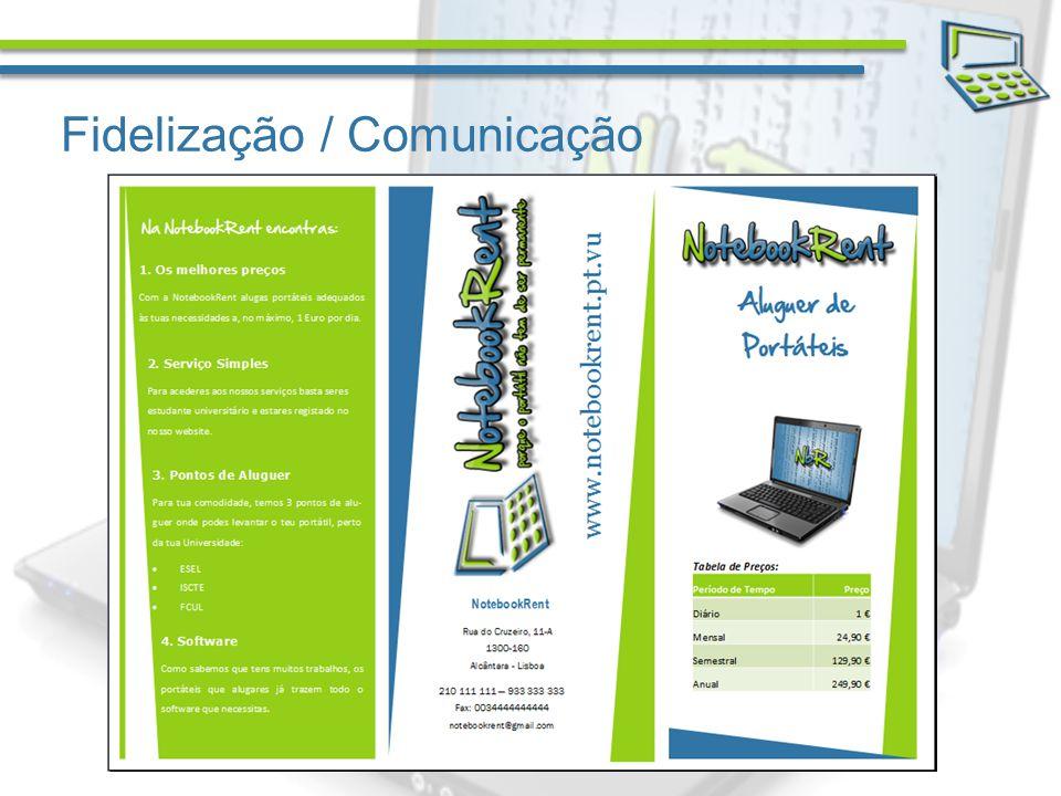 Fidelização / Comunicação