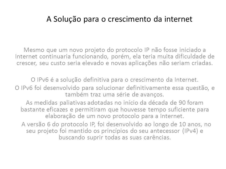 Por que o IPv6.