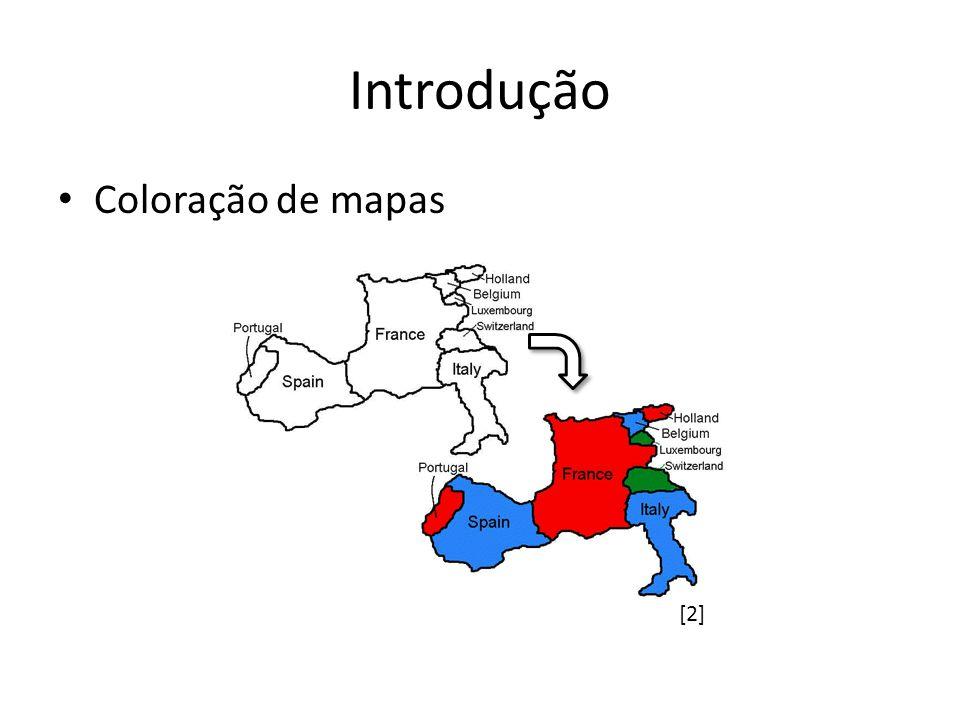 Introdução Coloração de mapas [2]
