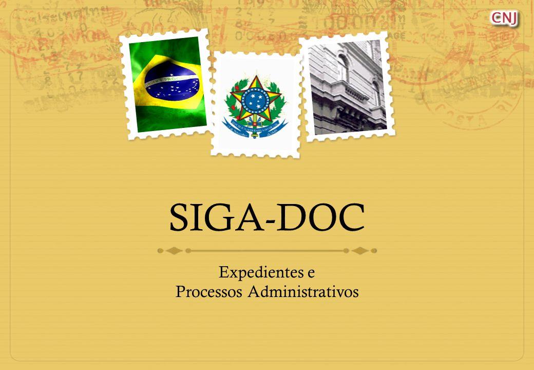 SIGA-DOC Expedientes e Processos Administrativos