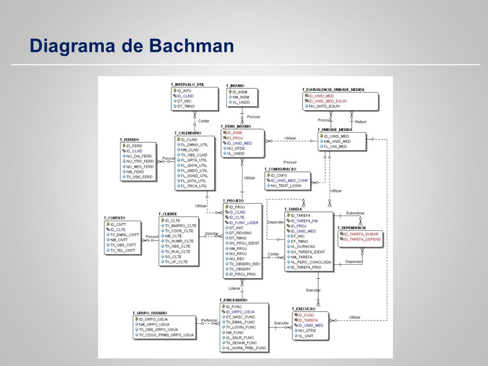 Diagrama de Bachman