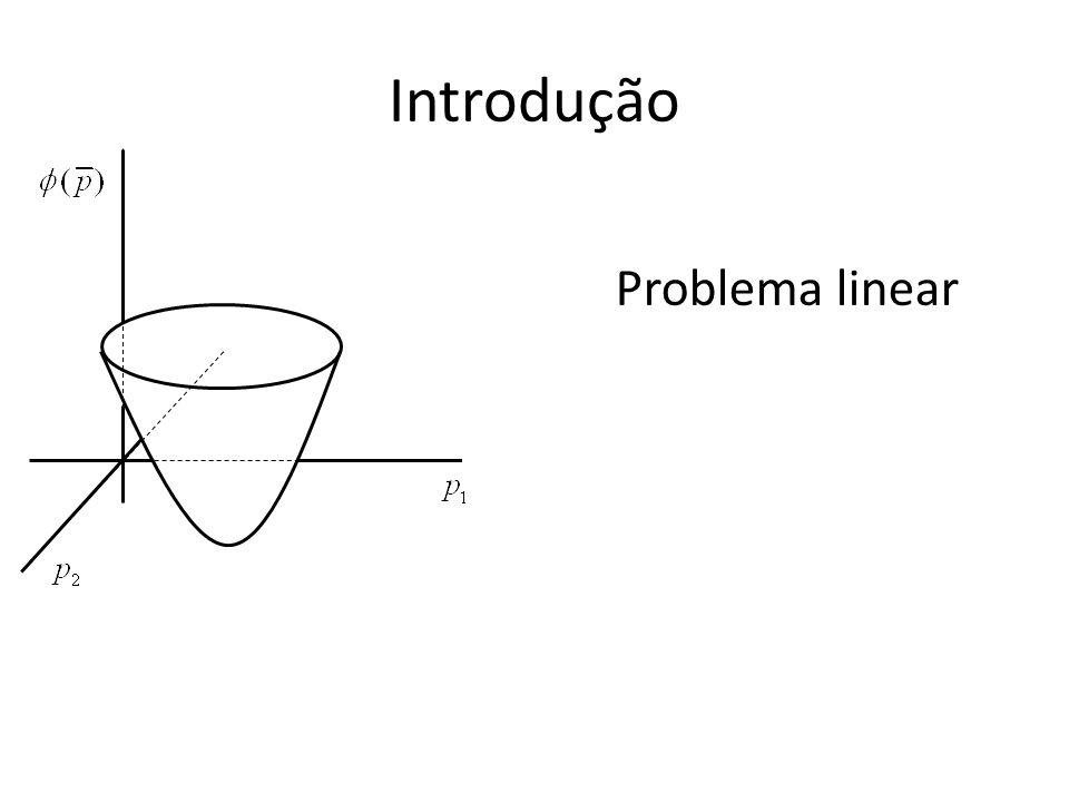 Introdução Problema linear