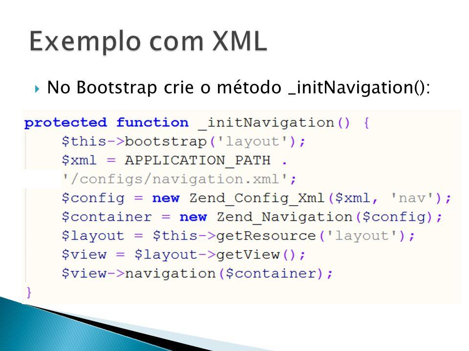 No Bootstrap crie o método _initNavigation():