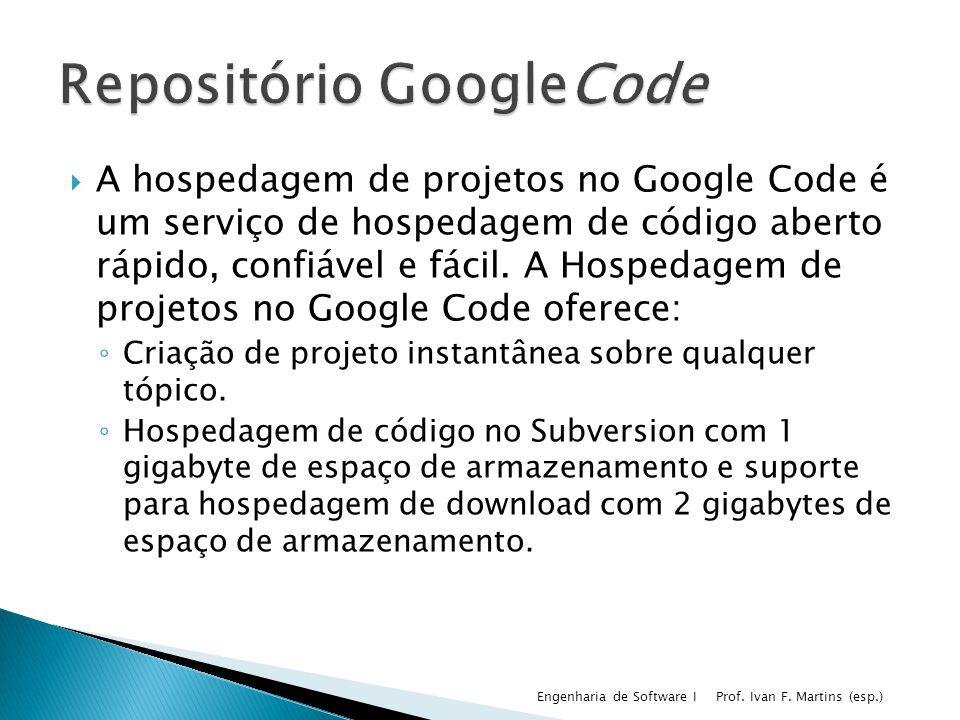 A hospedagem de projetos no Google Code é um serviço de hospedagem de código aberto rápido, confiável e fácil. A Hospedagem de projetos no Google Code