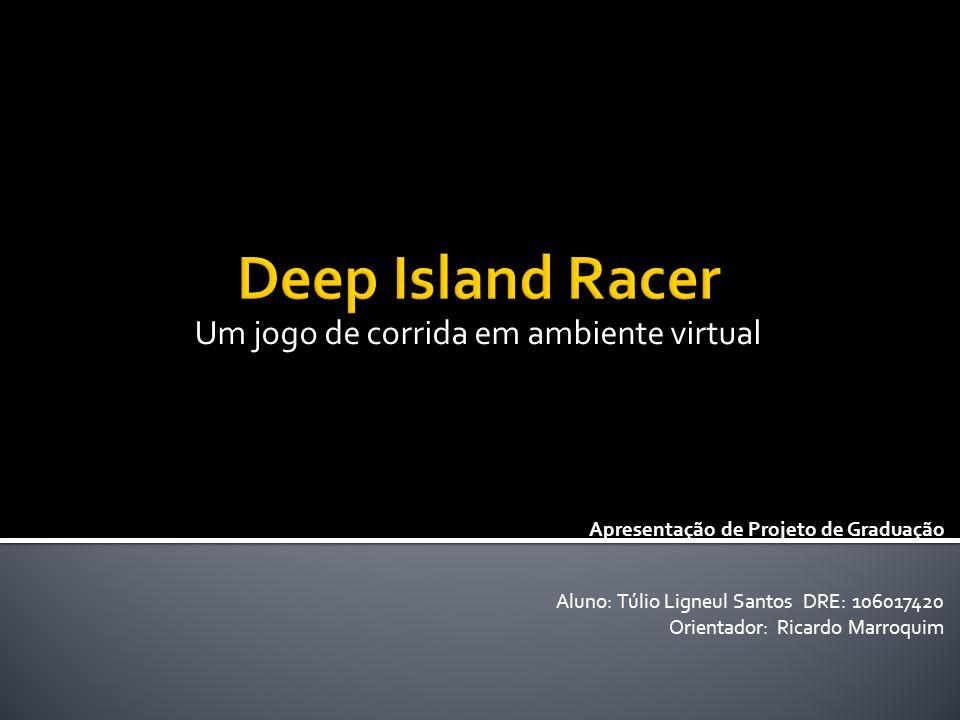 Aluno: Túlio Ligneul Santos DRE: 106017420 Orientador: Ricardo Marroquim Um jogo de corrida em ambiente virtual Apresentação de Projeto de Graduação