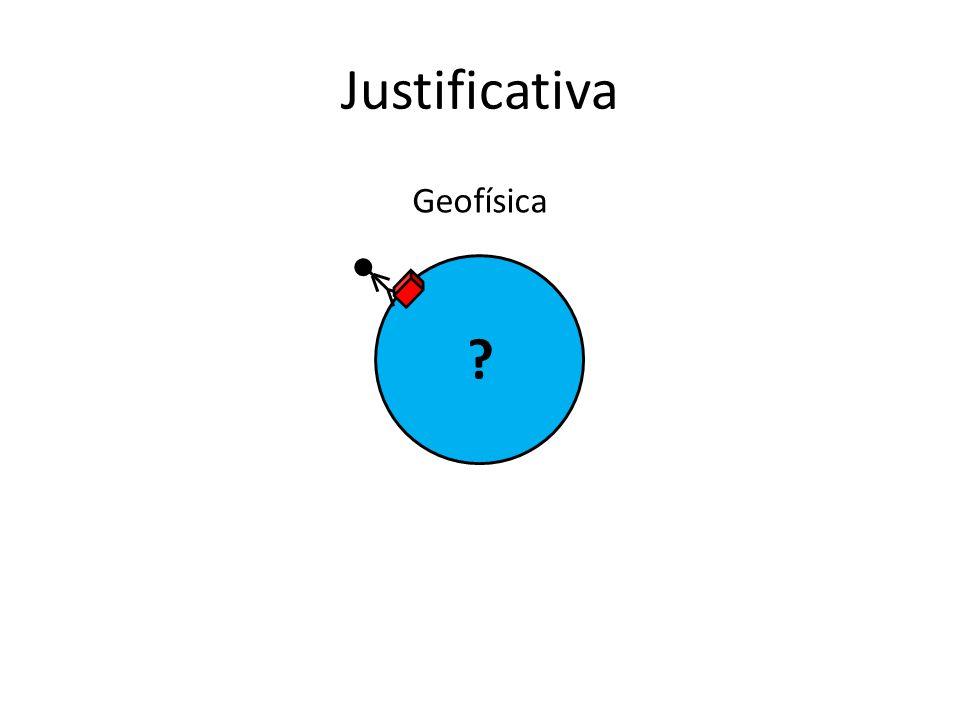 Justificativa Geofísica ?