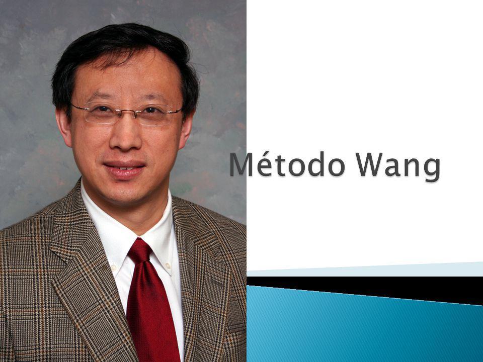 O método de Wang consiste em escrever uma série de linhas, cada vez mais simples, até que a prova seja completada ou até que se descubra ser impossível provar.