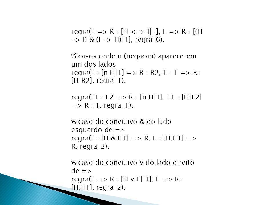 regra(L => R : [H I|T], L => R : [(H -> I) & (I -> H)|T], regra_6).