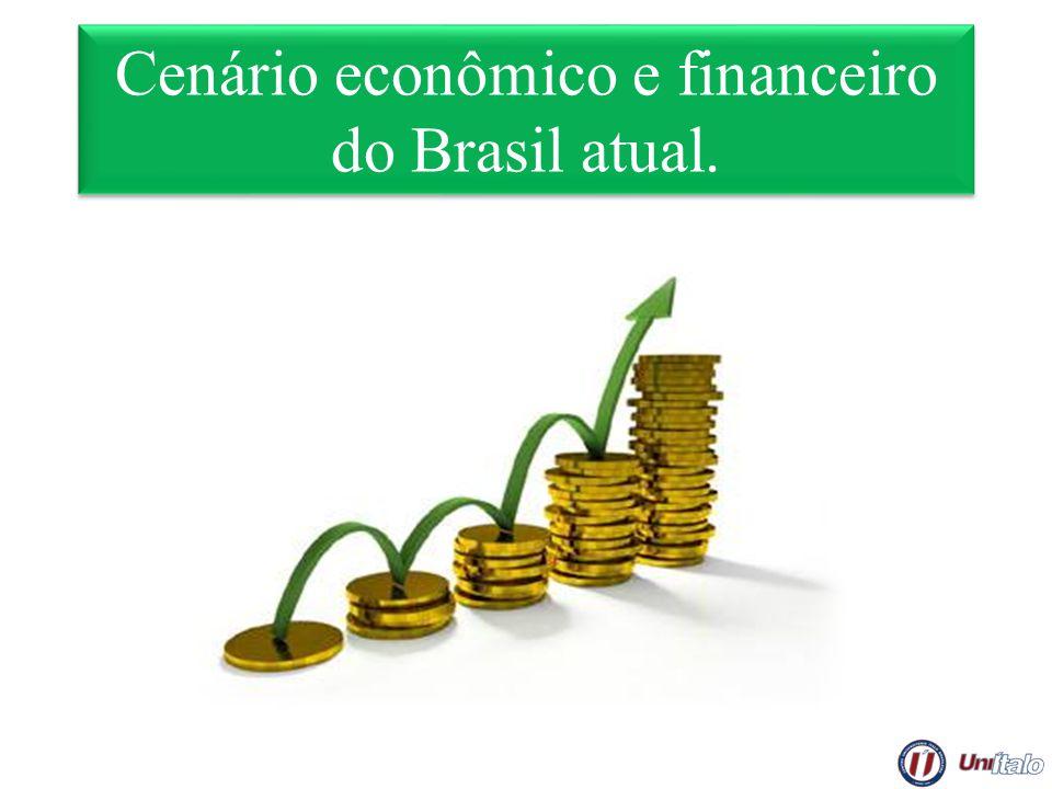 Cenário econômico e financeiro do Brasil atual.