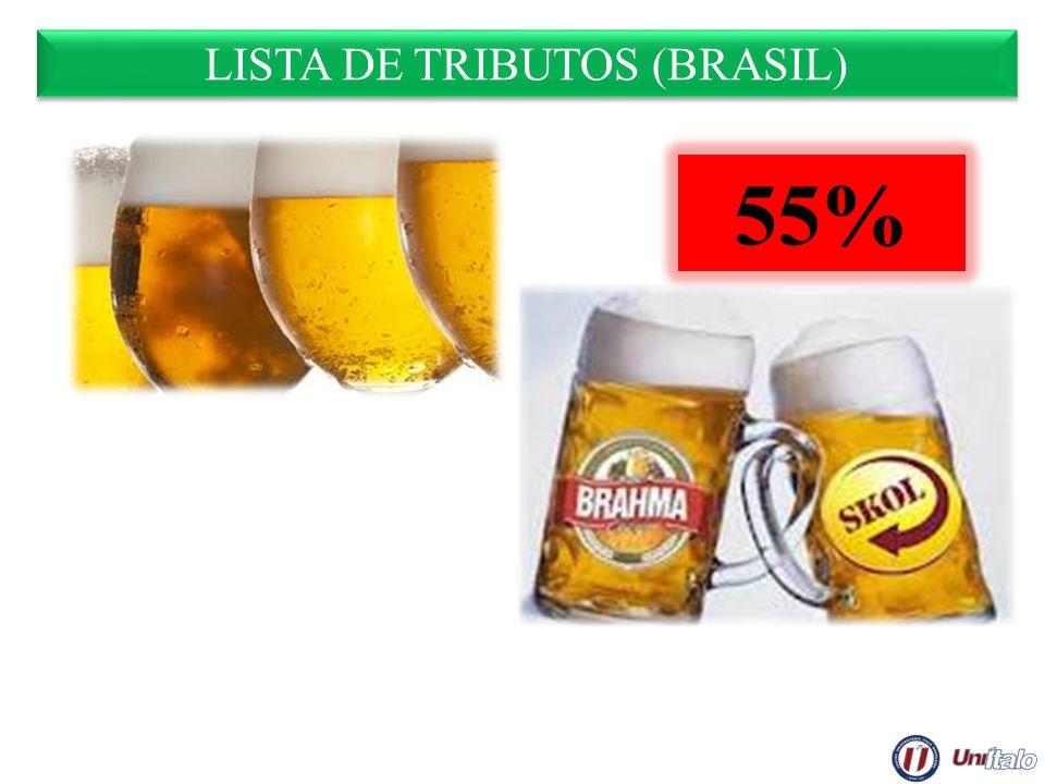 LISTA DE TRIBUTOS (BRASIL) 55%