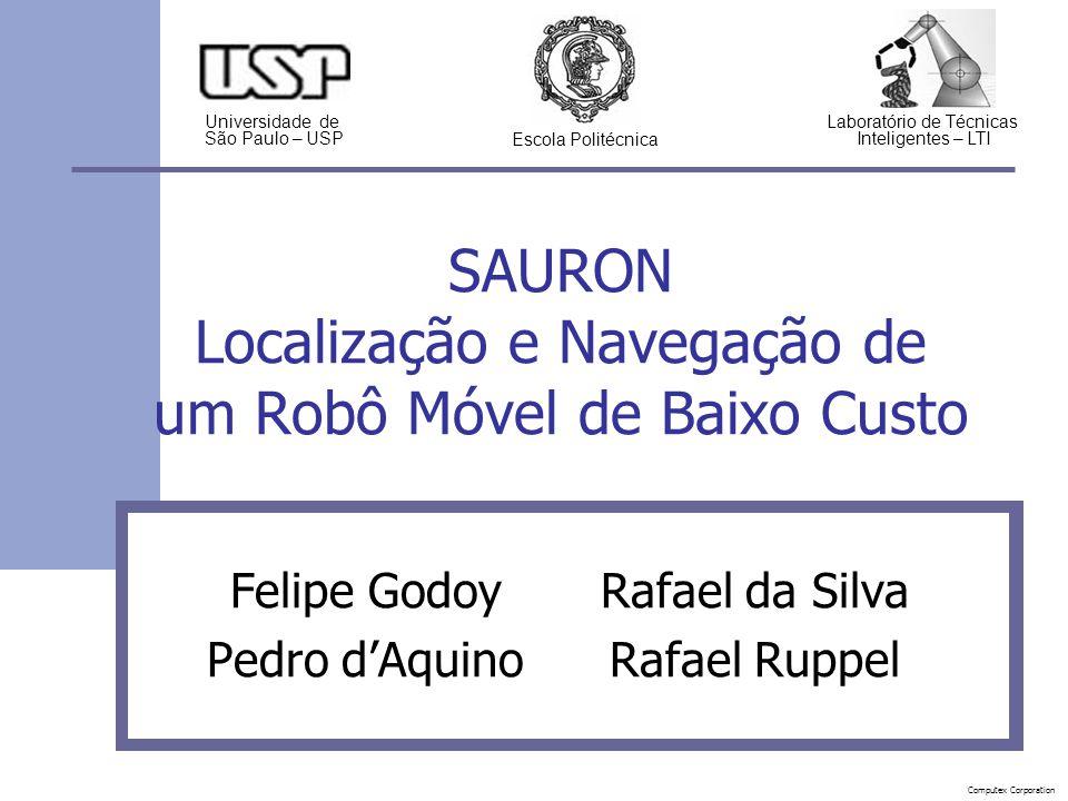 Motivação Robôs-guias foram empregados com sucesso em museus dos EUA e Europa Alto custo RoboX: US$ 400 000 2