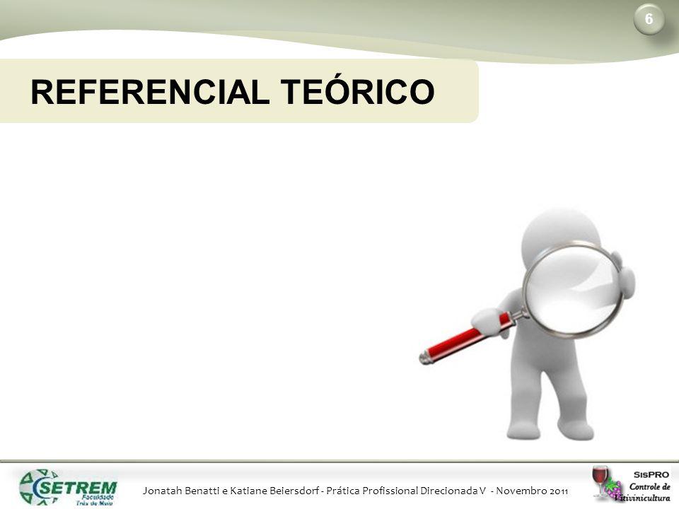 Jonatah Benatti e Katiane Beiersdorf - Prática Profissional Direcionada V - Novembro 2011 REFERENCIAL TEÓRICO 6