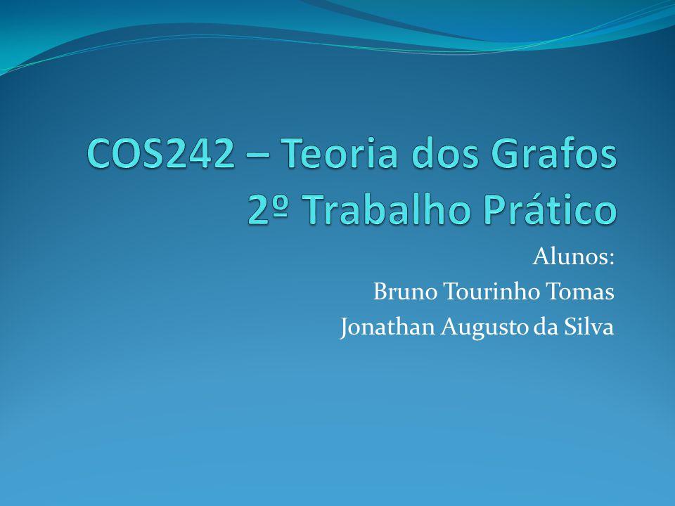 Alunos: Bruno Tourinho Tomas Jonathan Augusto da Silva