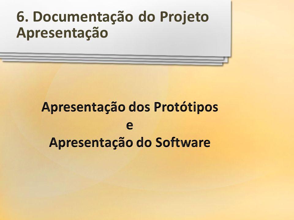 Apresentação 6. Documentação do Projeto