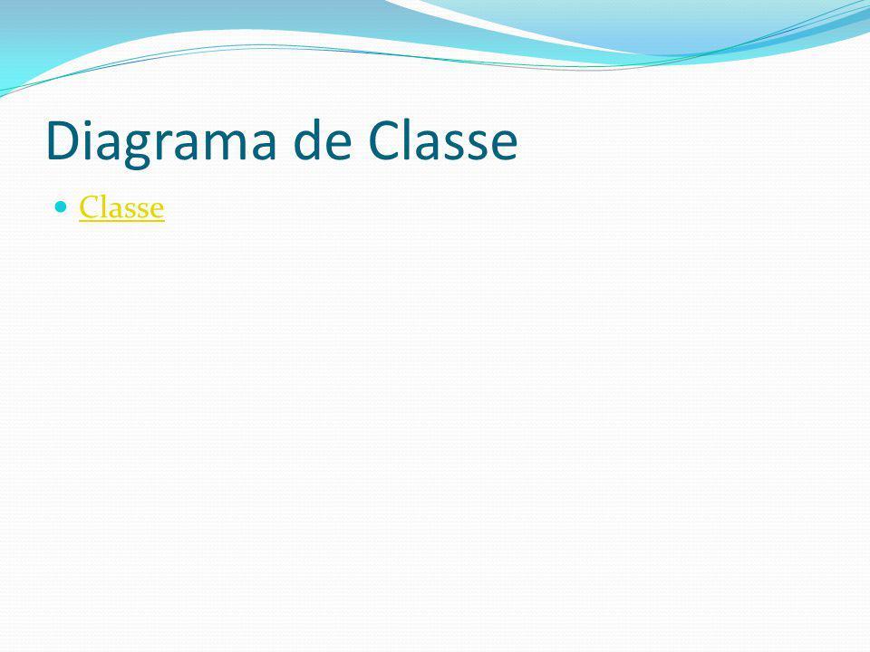 Diagrama de Classe Classe