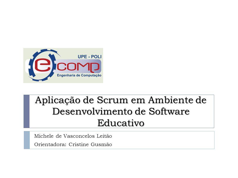 Sumário 2 Motivação Metas Metodologias Ágeis Caso de Estudo: Ambiente Caso de Estudo: Scrum Caso de Estudo: Resultados eComp - POLI - UPE