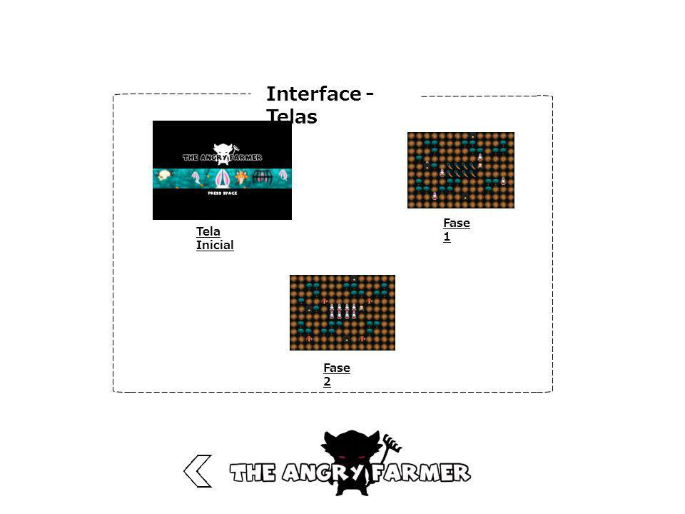 Interface - Telas Tela Inicial Fase 1 Fase 2