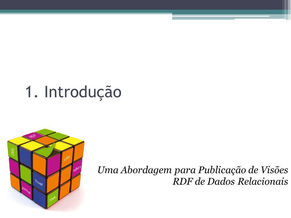 1. Introdução Uma Abordagem para Publicação de Visões RDF de Dados Relacionais