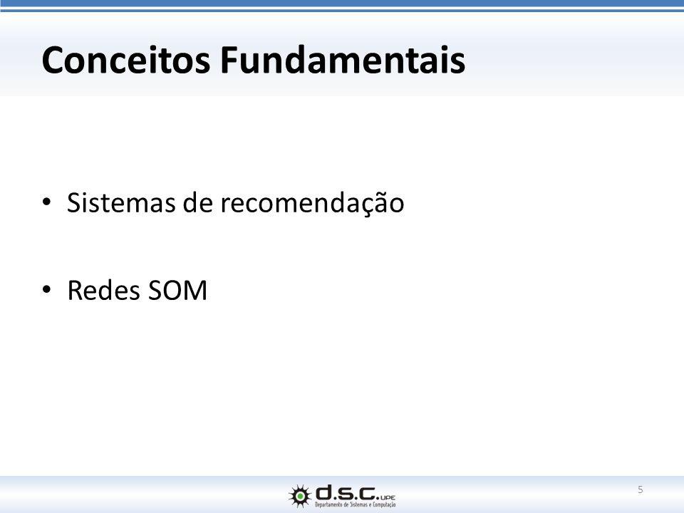 Conceitos Fundamentais Sistemas de recomendação Redes SOM 5
