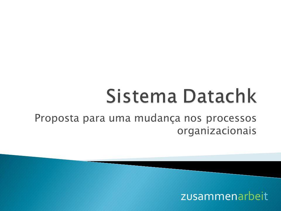Proposta para uma mudança nos processos organizacionais zusammenarbeit