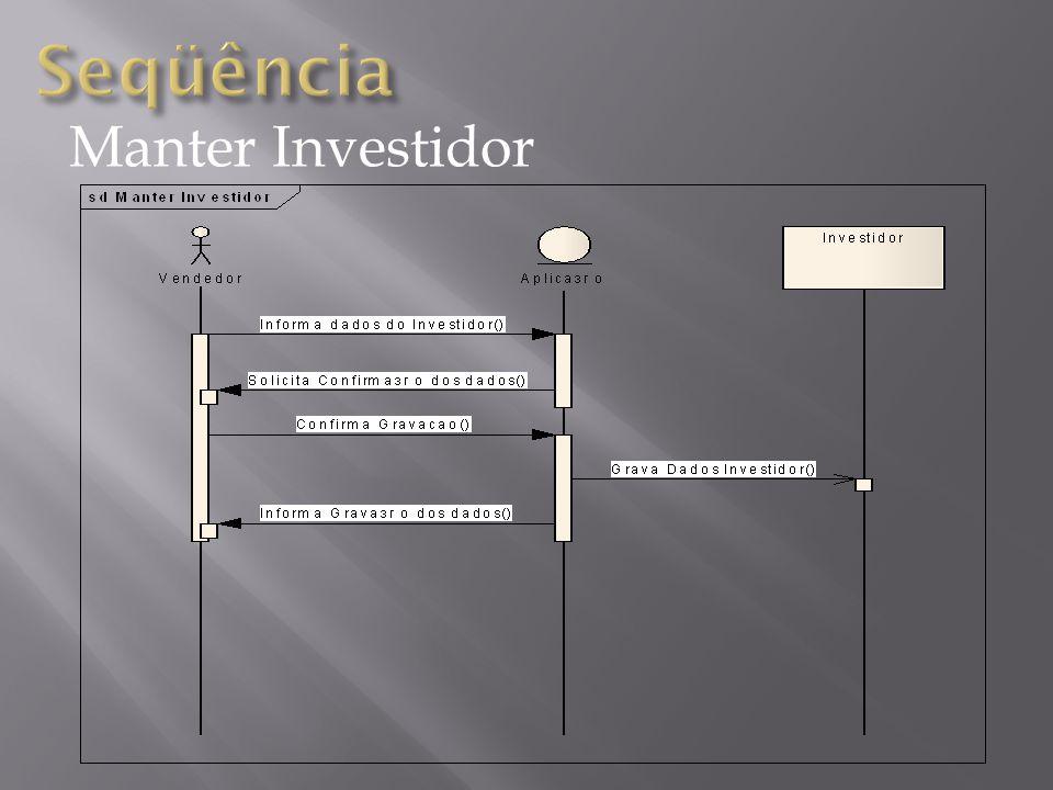 Relacionar Mercadoria X Investidor