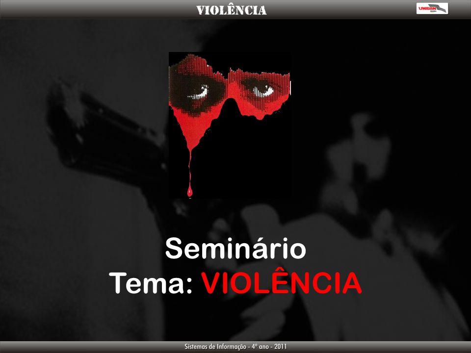 Seminário Tema: VIOLÊNCIA