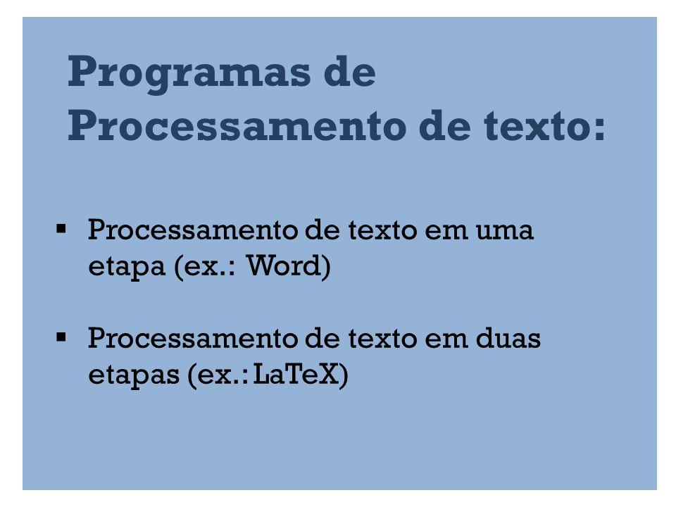 LIGATURAS The Beauty of LaTeX o Microsoft Word: o LaTeX: