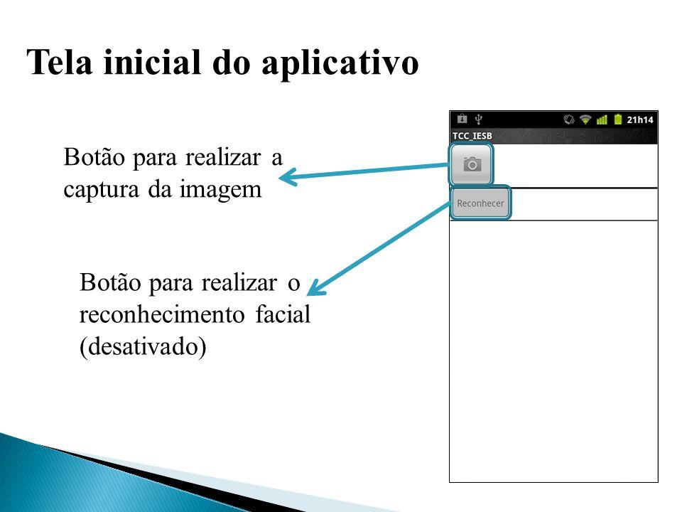 Aplicativo da Câmera Configurações Localização Balanço de branco Modo flash Zoom Capturar imagem Cancelar