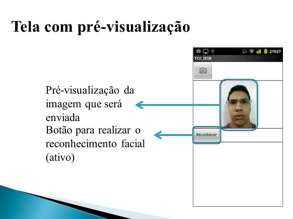 Resultado do reconhecimento Identificação do usuário