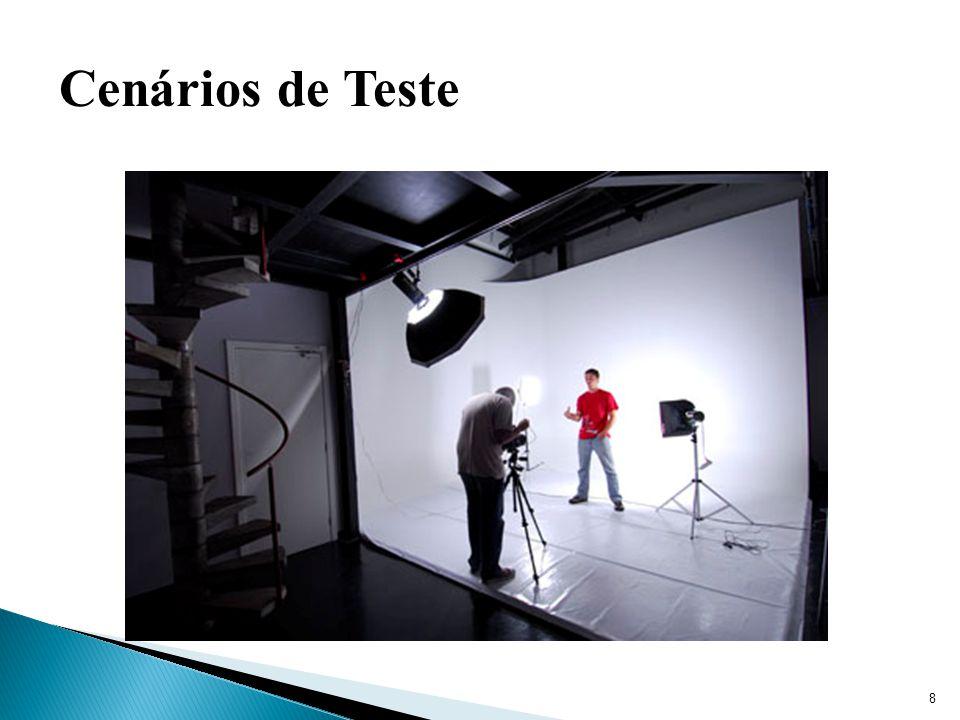 8 Cenários de Teste