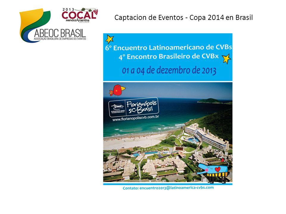 Captacion de Eventos - Copa 2014 en Brasil