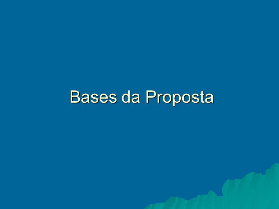 Bases da Proposta