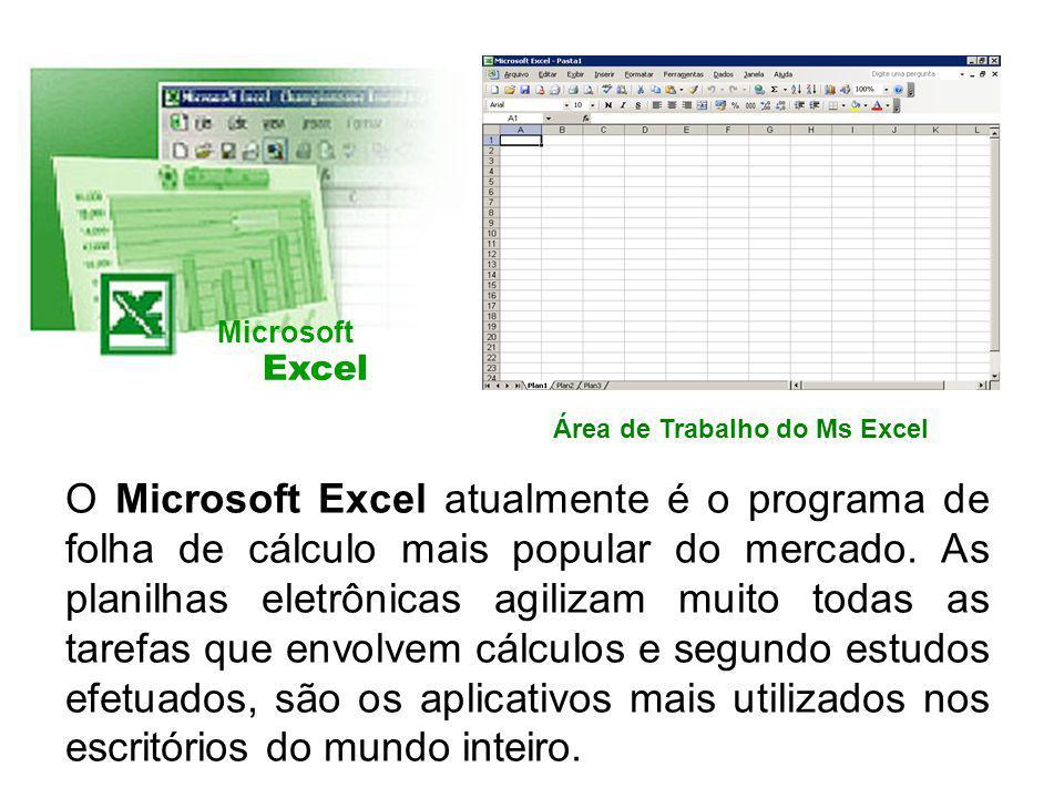 O Microsoft Excel atualmente é o programa de folha de cálculo mais popular do mercado. As planilhas eletrônicas agilizam muito todas as tarefas que en