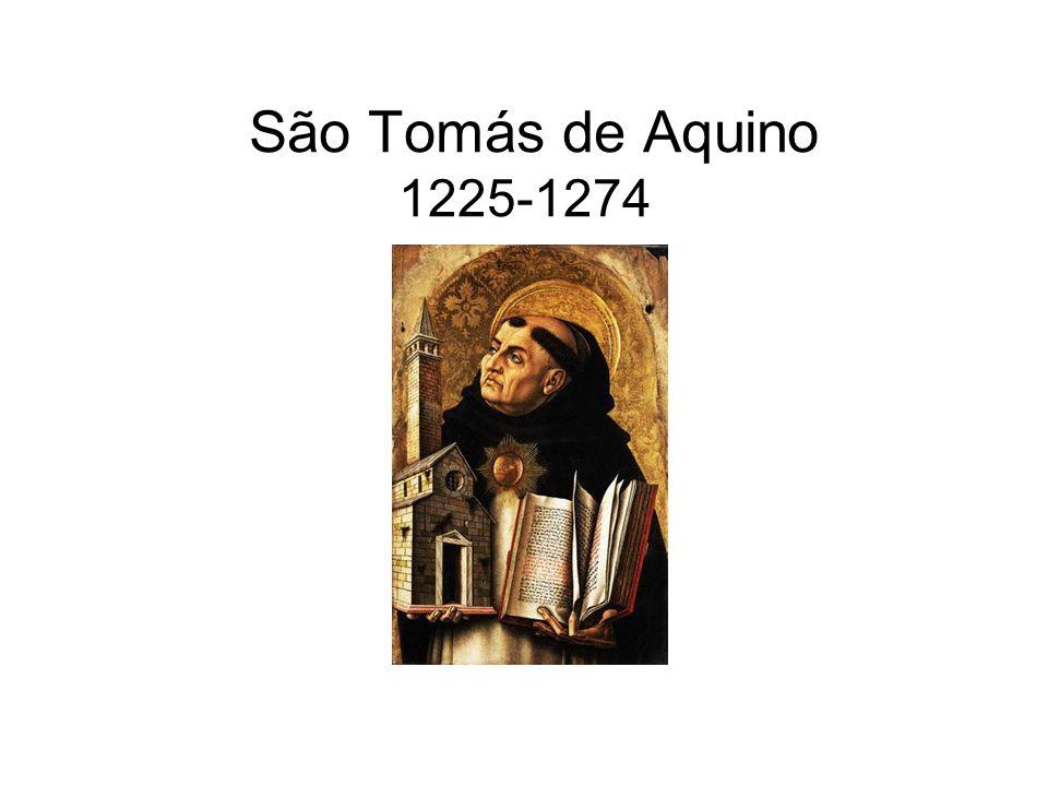 São Tomás de Aquino 1225-1274