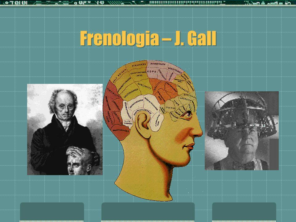 Frenologia – J. Gall