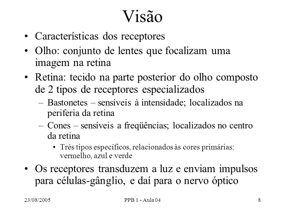 23/08/2005PPB 1 - Aula 0419