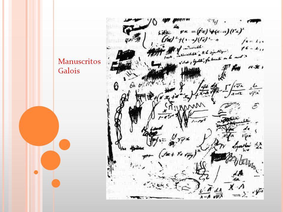 Manuscritos Galois
