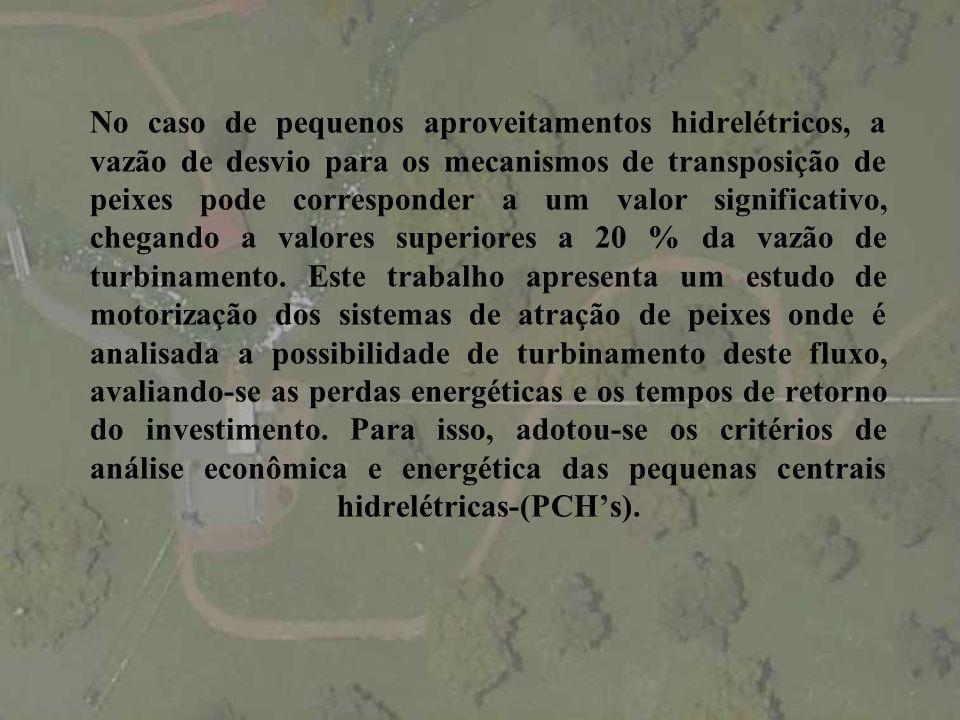 ESTUDO DE MOTORIZAÇÃO DE MECANISMOS DE TRANSPOSIÇÃO DE PEIXES Carlos Barreira Martinez* Edna Maria de Faria* Marcelo Giulian.
