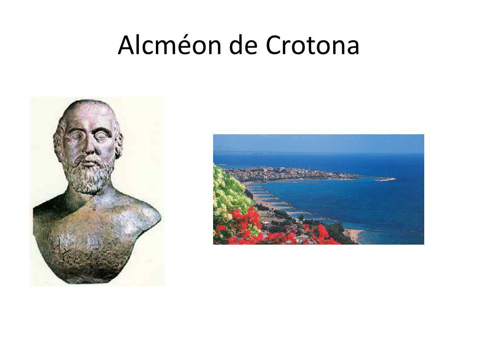 Alcméon de Crotona