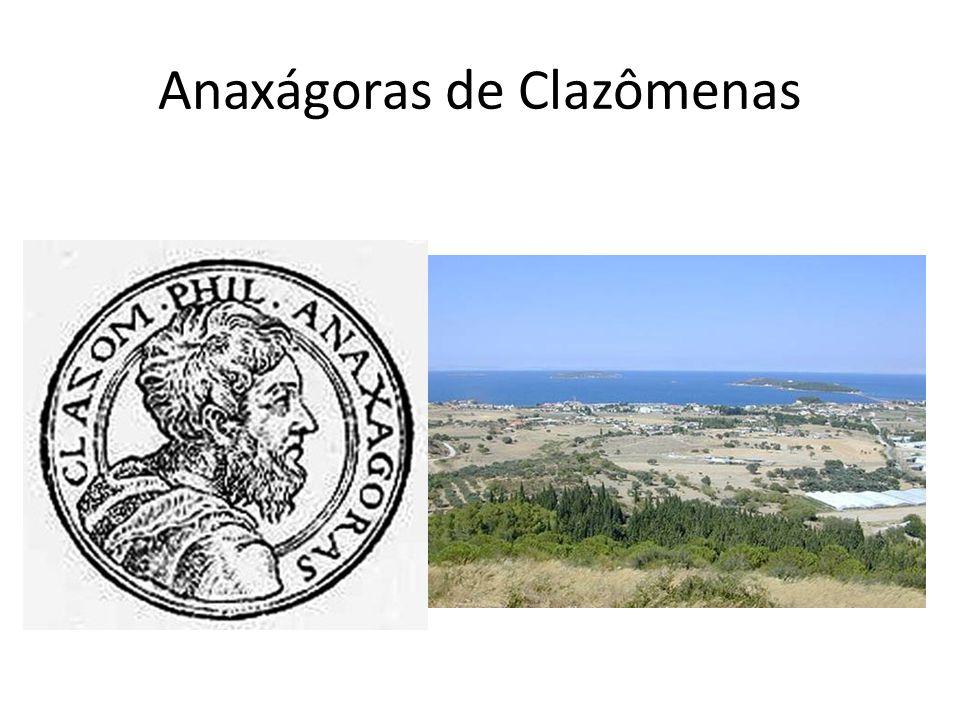 Anaxágoras de Clazômenas