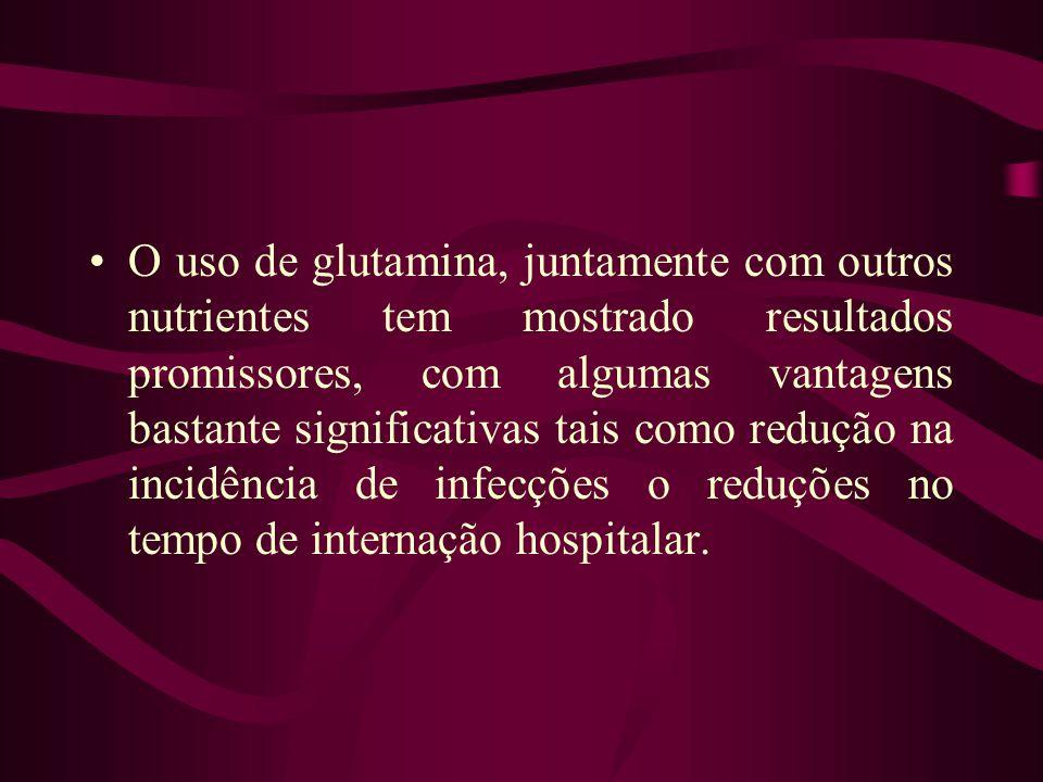 Entretanto, experiências in vivo demonstraram que a administração de glutamina, via oral ou intravenosa, não acelera o crescimento de tumores.